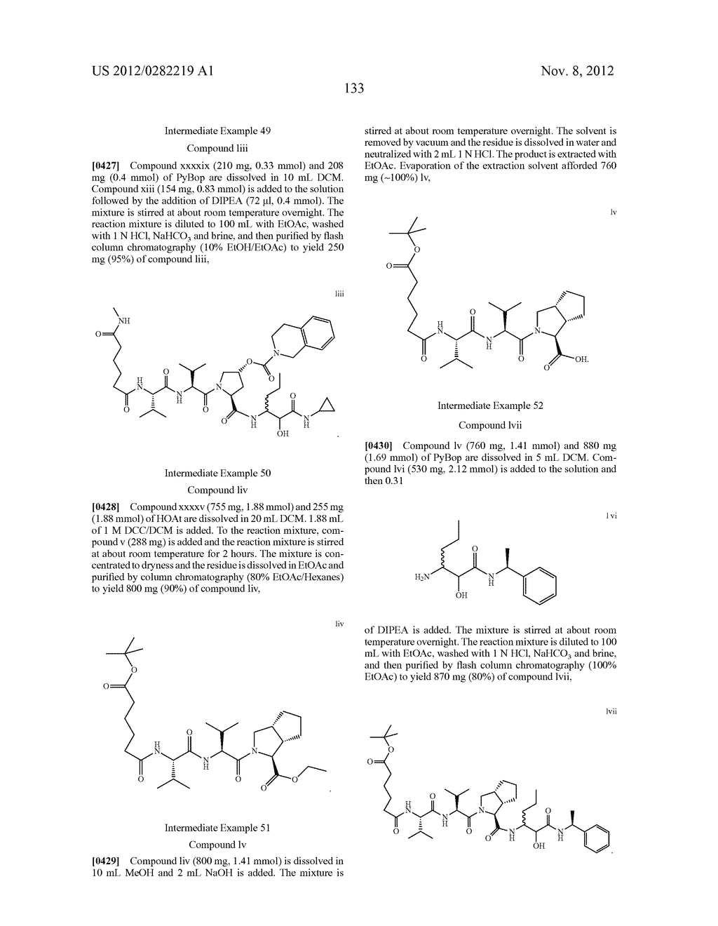 PEPTIDOMIMETIC PROTEASE INHIBITORS - diagram, schematic, and image 148