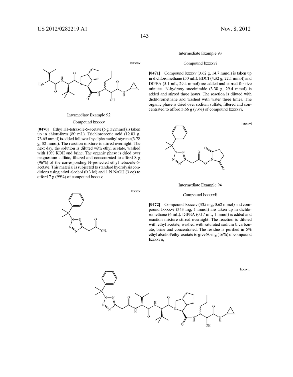 PEPTIDOMIMETIC PROTEASE INHIBITORS - diagram, schematic, and image 158