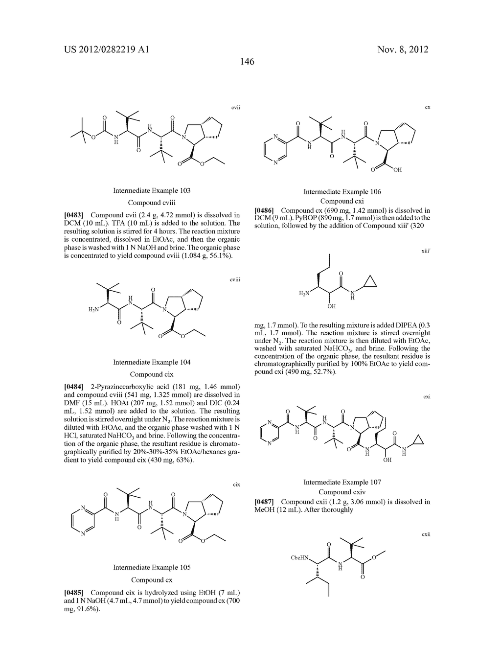 PEPTIDOMIMETIC PROTEASE INHIBITORS - diagram, schematic, and image 161