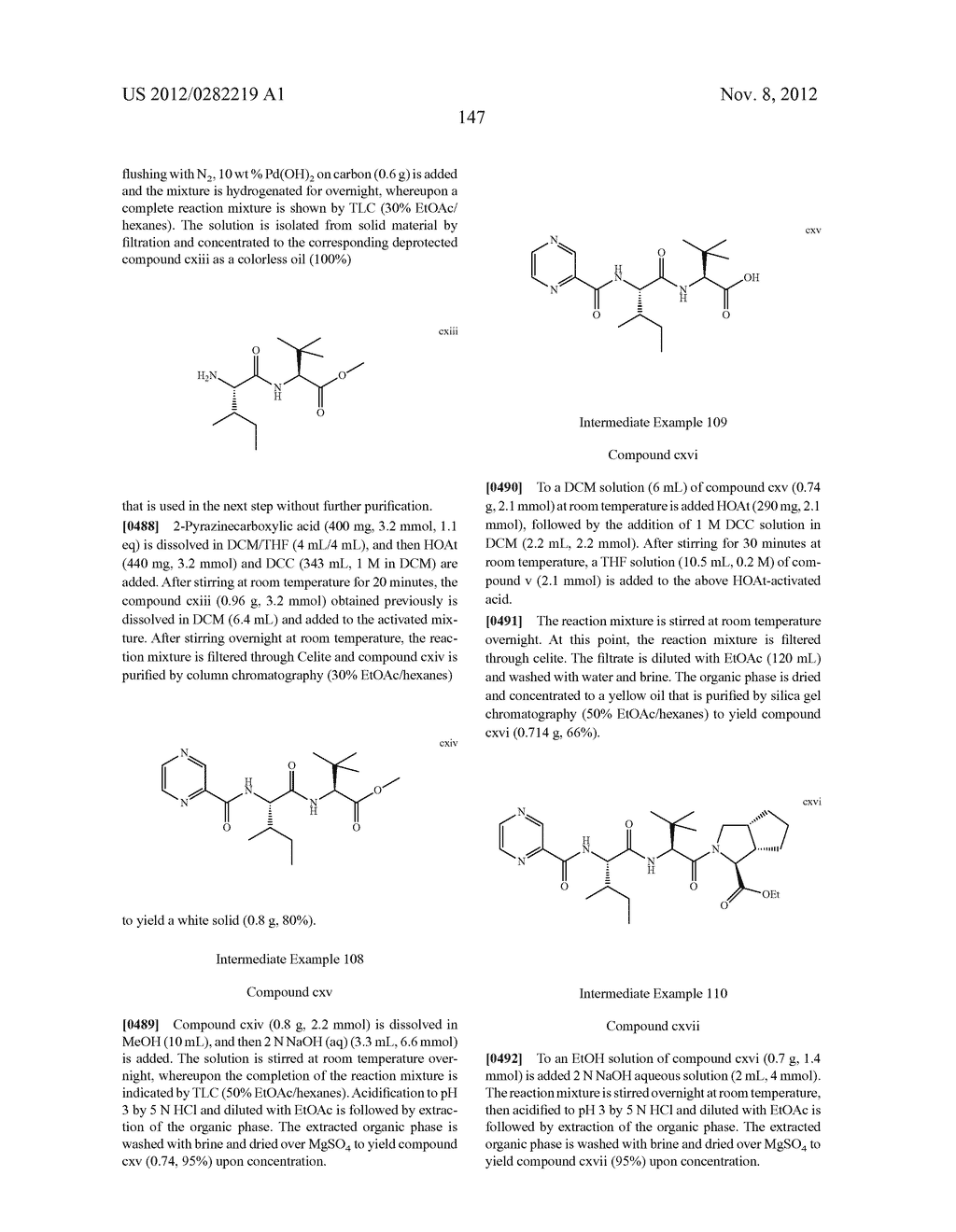 PEPTIDOMIMETIC PROTEASE INHIBITORS - diagram, schematic, and image 162