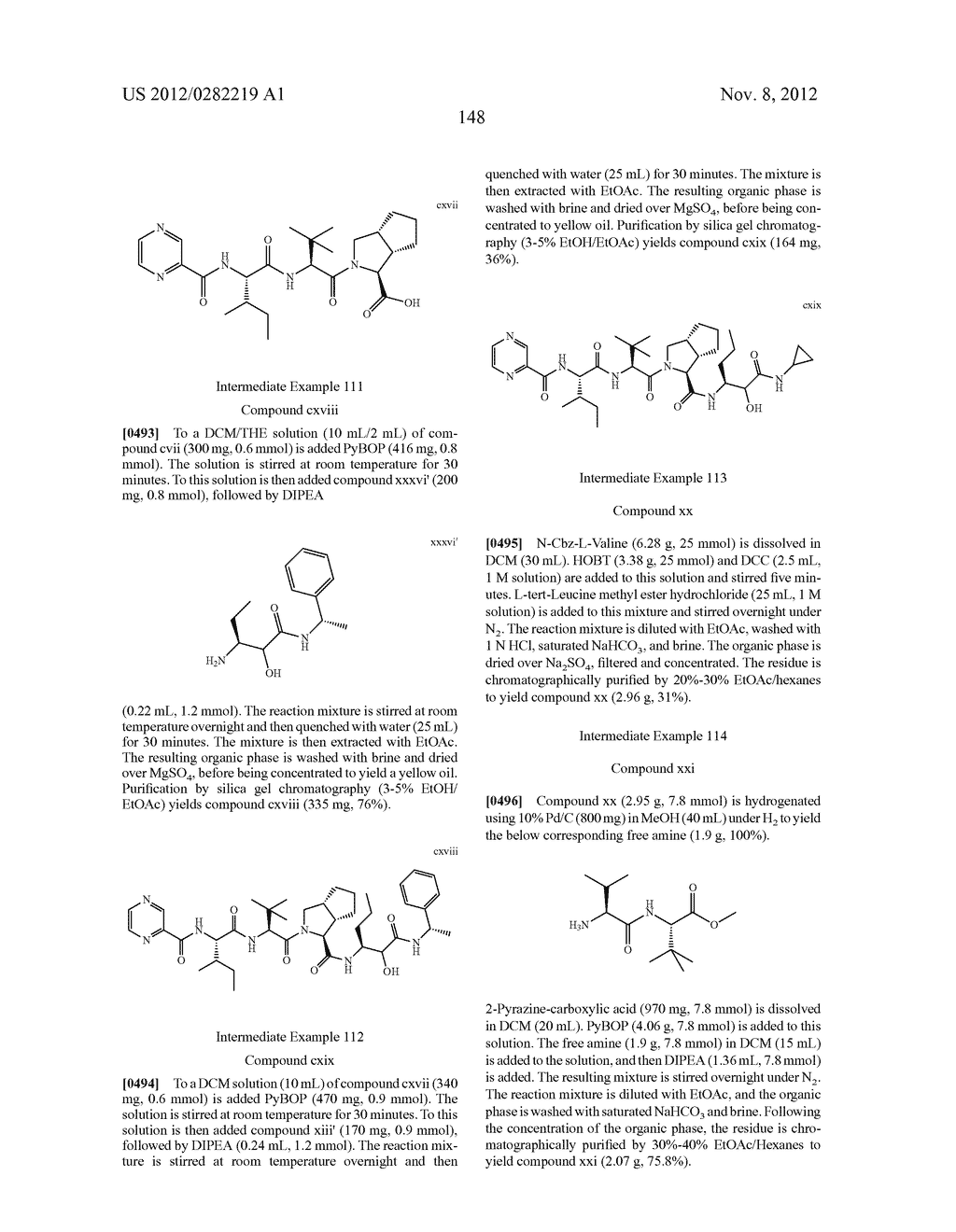 PEPTIDOMIMETIC PROTEASE INHIBITORS - diagram, schematic, and image 163