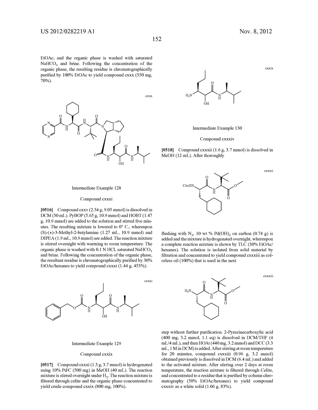 PEPTIDOMIMETIC PROTEASE INHIBITORS - diagram, schematic, and image 167