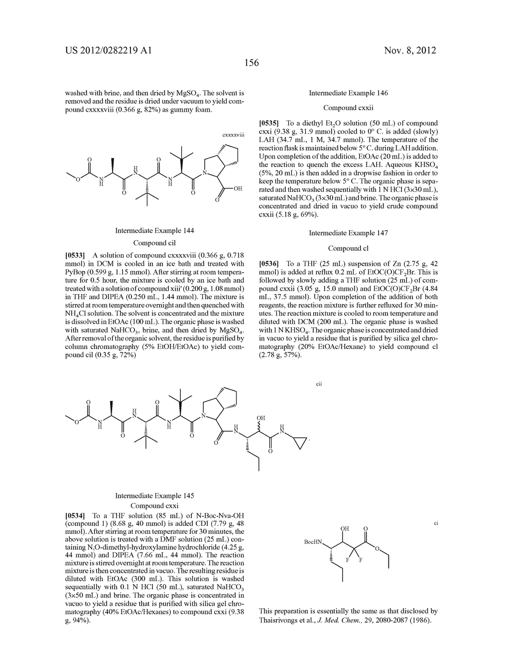 PEPTIDOMIMETIC PROTEASE INHIBITORS - diagram, schematic, and image 171