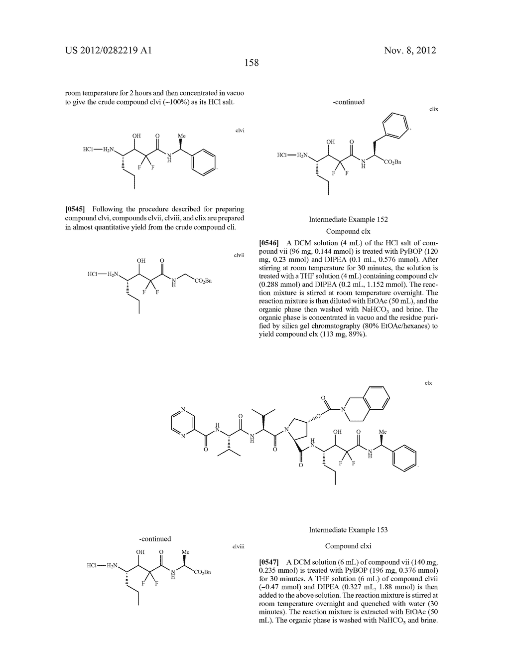 PEPTIDOMIMETIC PROTEASE INHIBITORS - diagram, schematic, and image 173