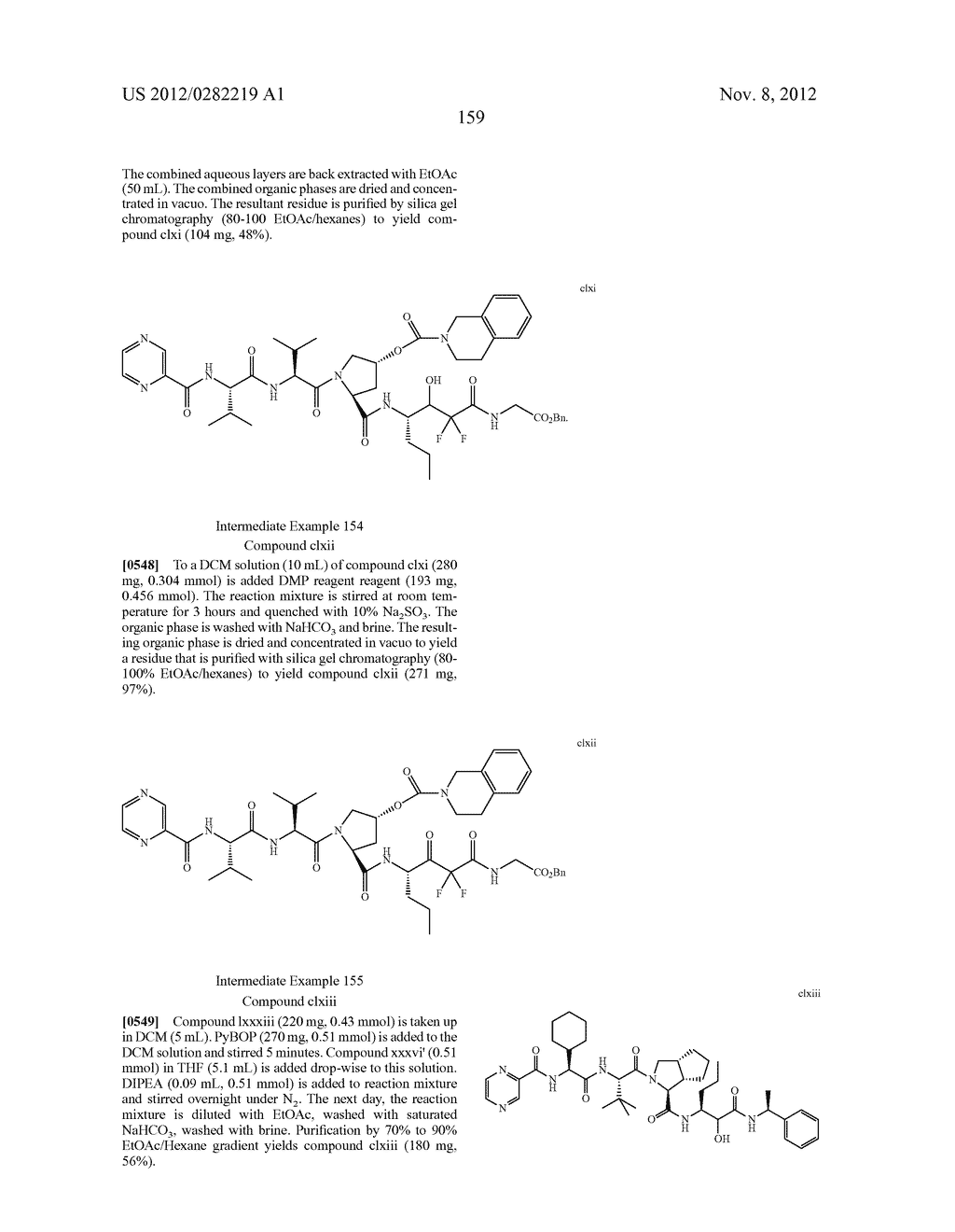 PEPTIDOMIMETIC PROTEASE INHIBITORS - diagram, schematic, and image 174