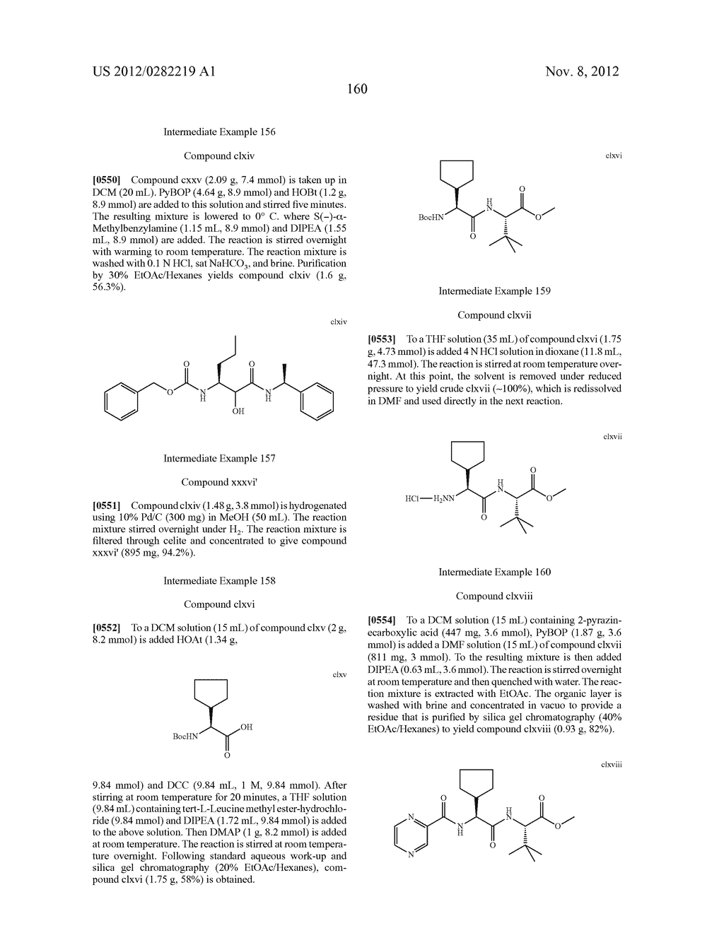 PEPTIDOMIMETIC PROTEASE INHIBITORS - diagram, schematic, and image 175