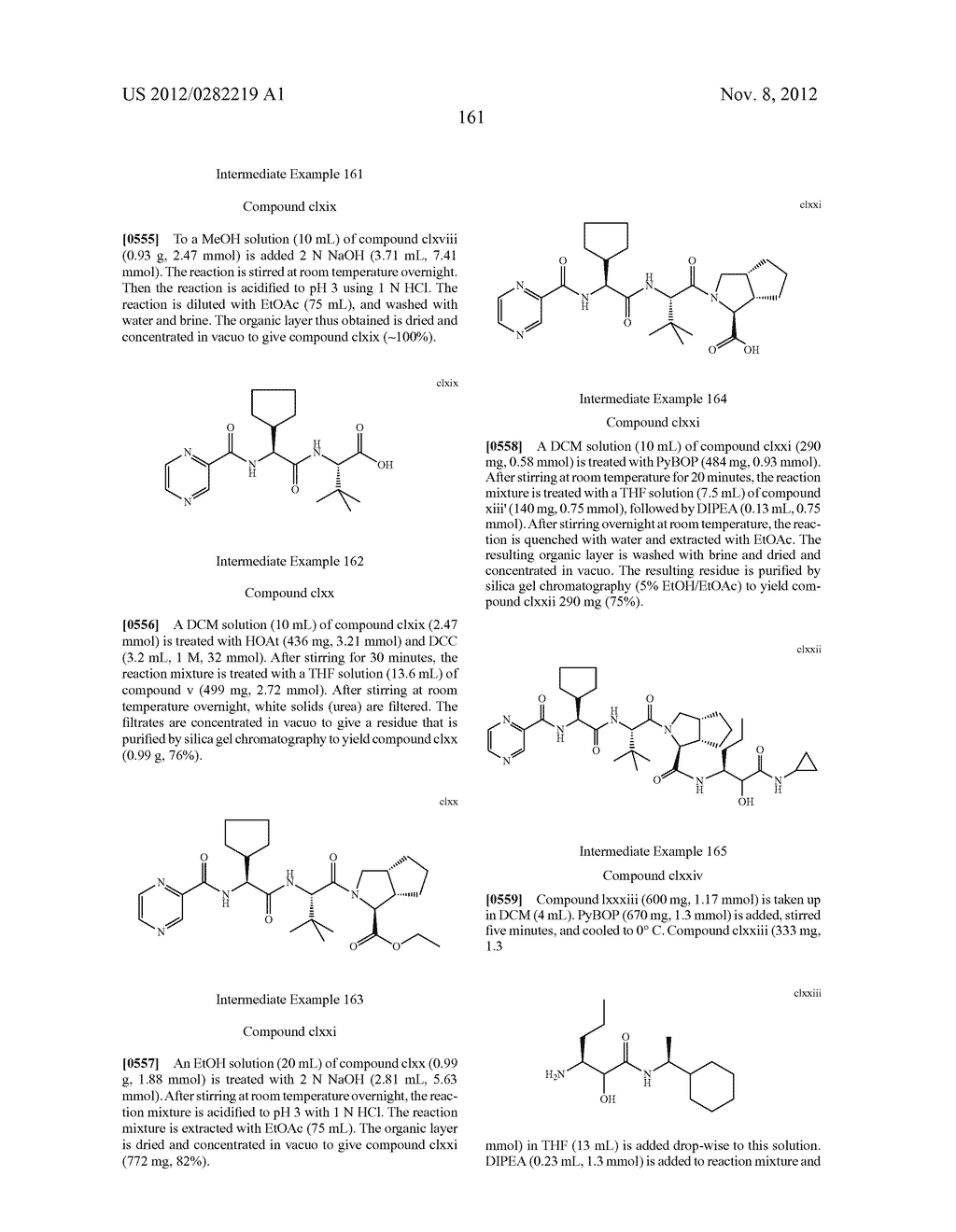 PEPTIDOMIMETIC PROTEASE INHIBITORS - diagram, schematic, and image 176