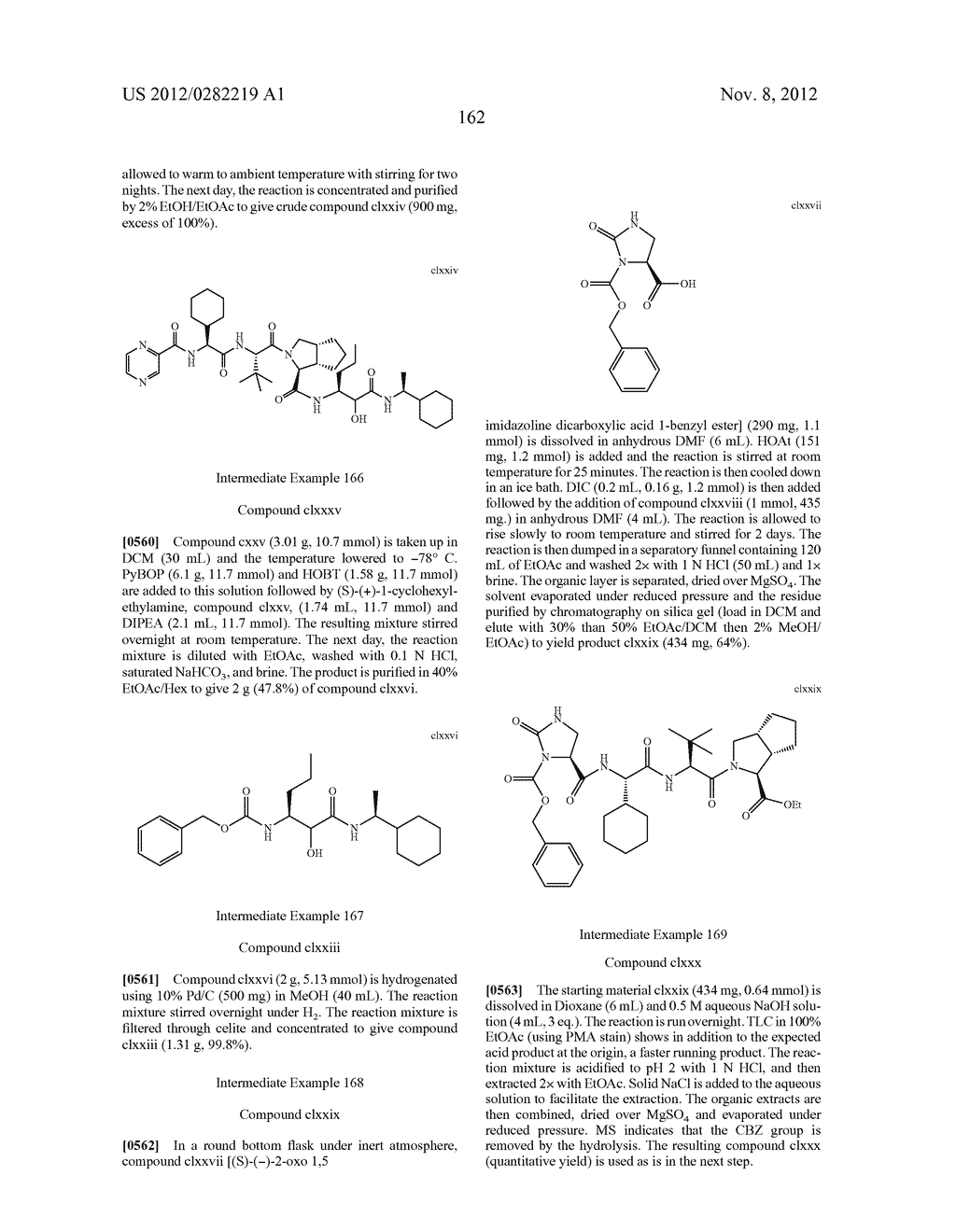 PEPTIDOMIMETIC PROTEASE INHIBITORS - diagram, schematic, and image 177
