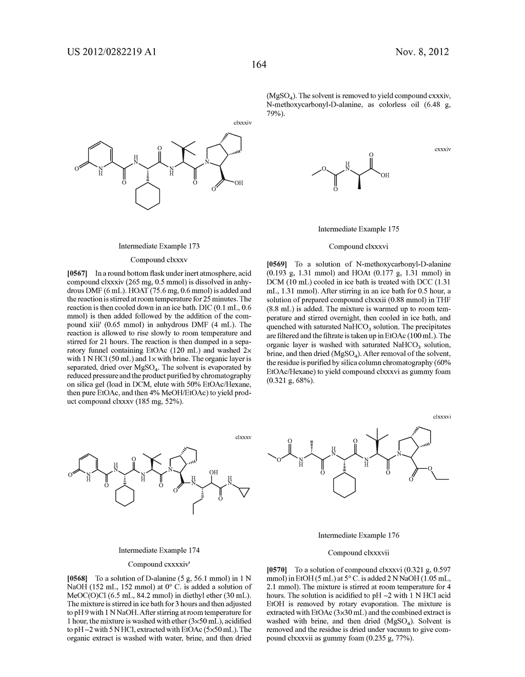PEPTIDOMIMETIC PROTEASE INHIBITORS - diagram, schematic, and image 179