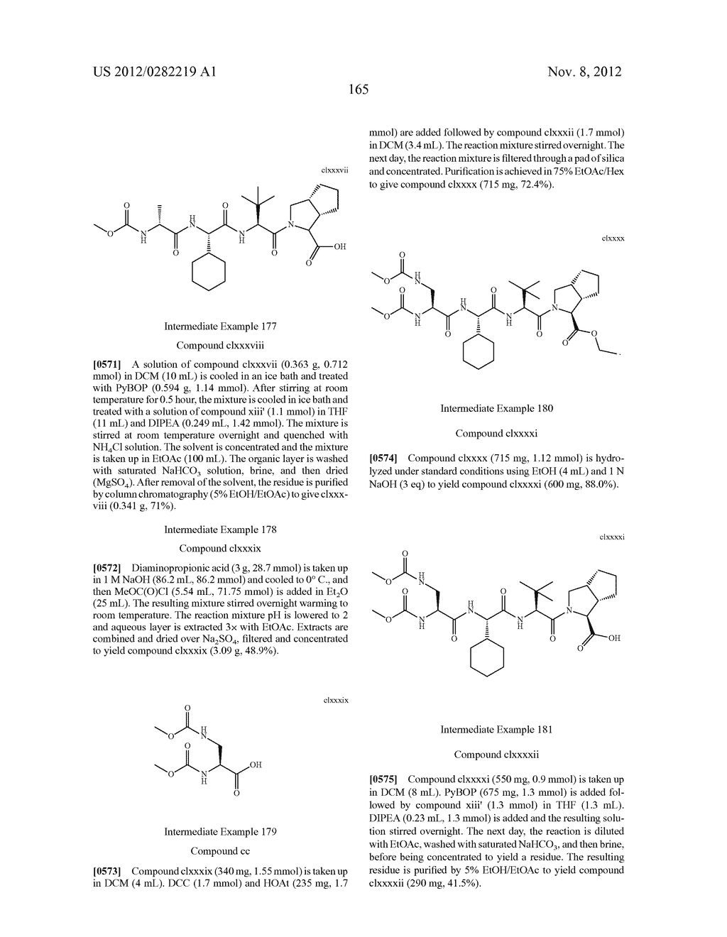 PEPTIDOMIMETIC PROTEASE INHIBITORS - diagram, schematic, and image 180