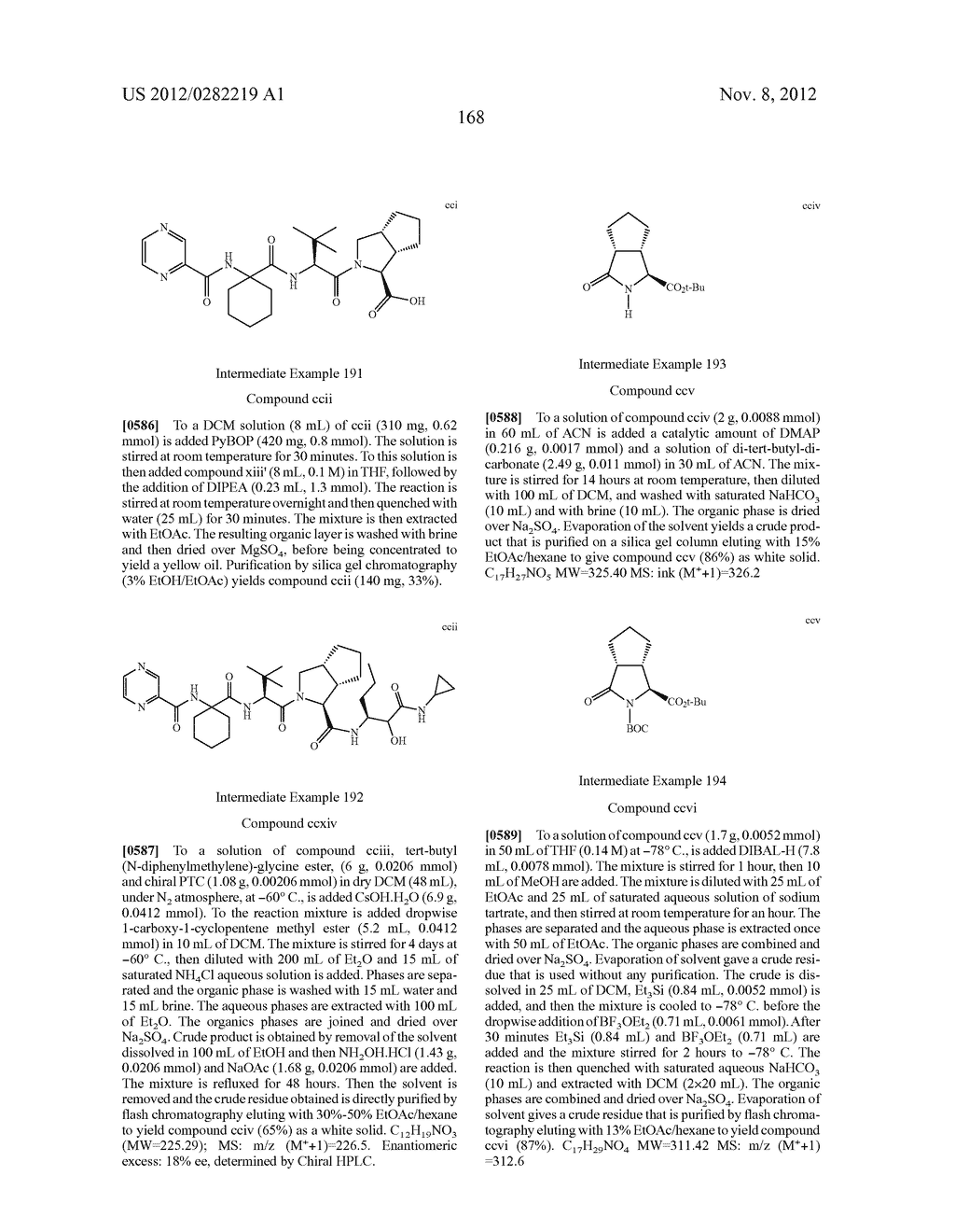 PEPTIDOMIMETIC PROTEASE INHIBITORS - diagram, schematic, and image 183