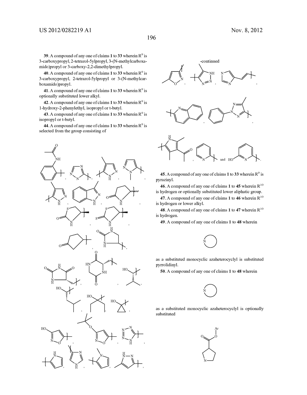 PEPTIDOMIMETIC PROTEASE INHIBITORS - diagram, schematic, and image 211