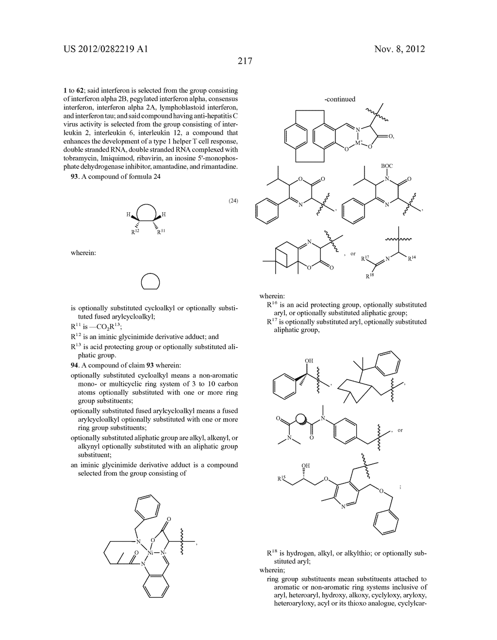 PEPTIDOMIMETIC PROTEASE INHIBITORS - diagram, schematic, and image 232