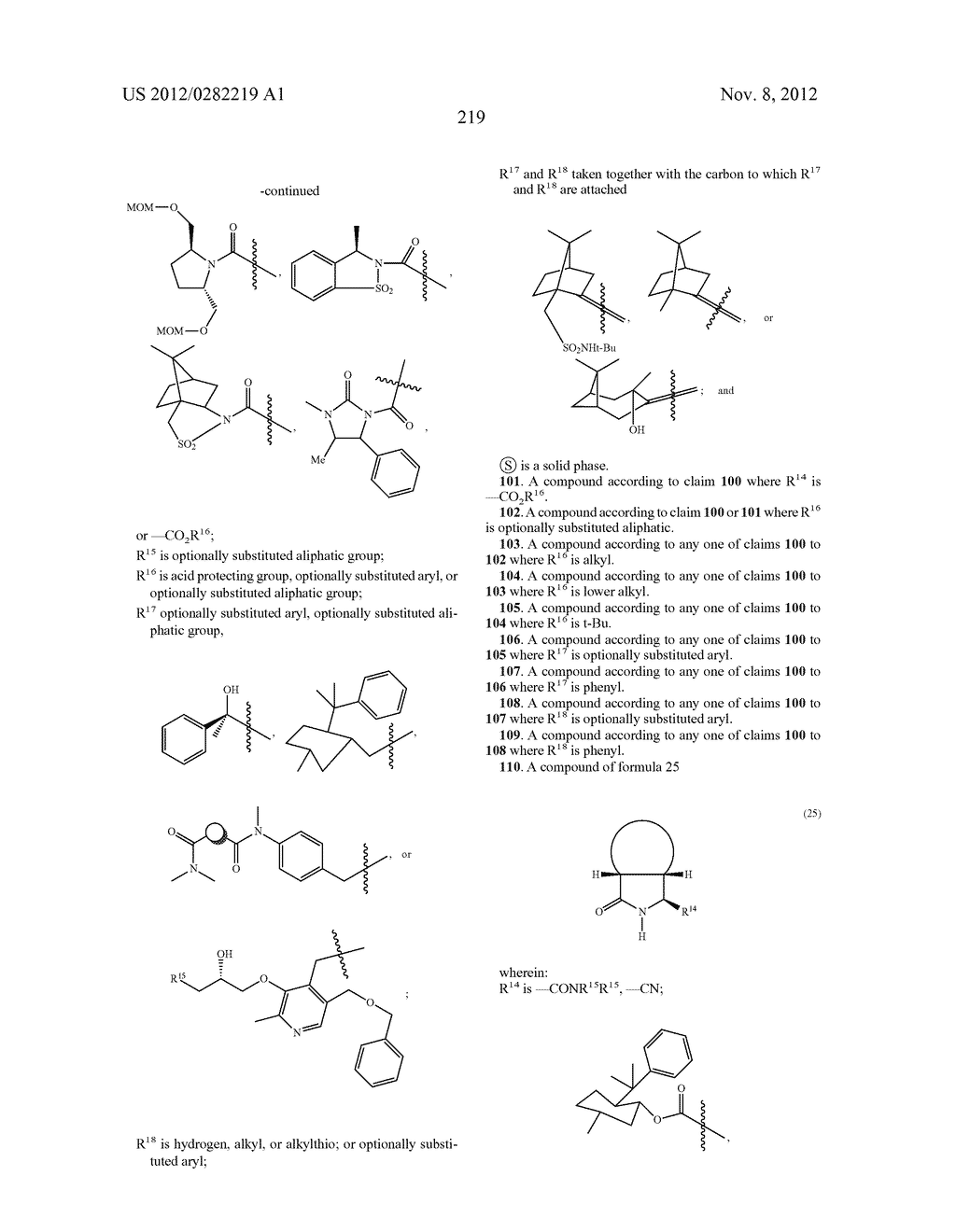 PEPTIDOMIMETIC PROTEASE INHIBITORS - diagram, schematic, and image 234