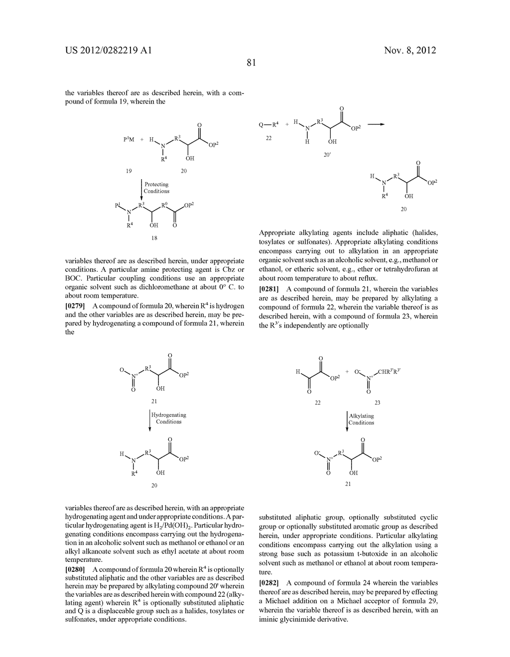 PEPTIDOMIMETIC PROTEASE INHIBITORS - diagram, schematic, and image 96