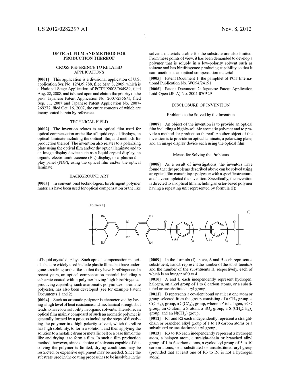 OPTICAL FILM AND METHOD FOR PRODUCTION THEREOF - diagram, schematic, and image 03