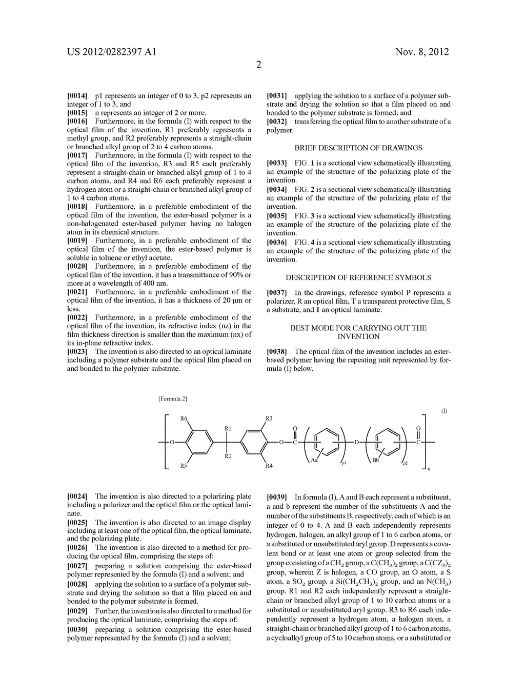 OPTICAL FILM AND METHOD FOR PRODUCTION THEREOF - diagram, schematic, and image 04