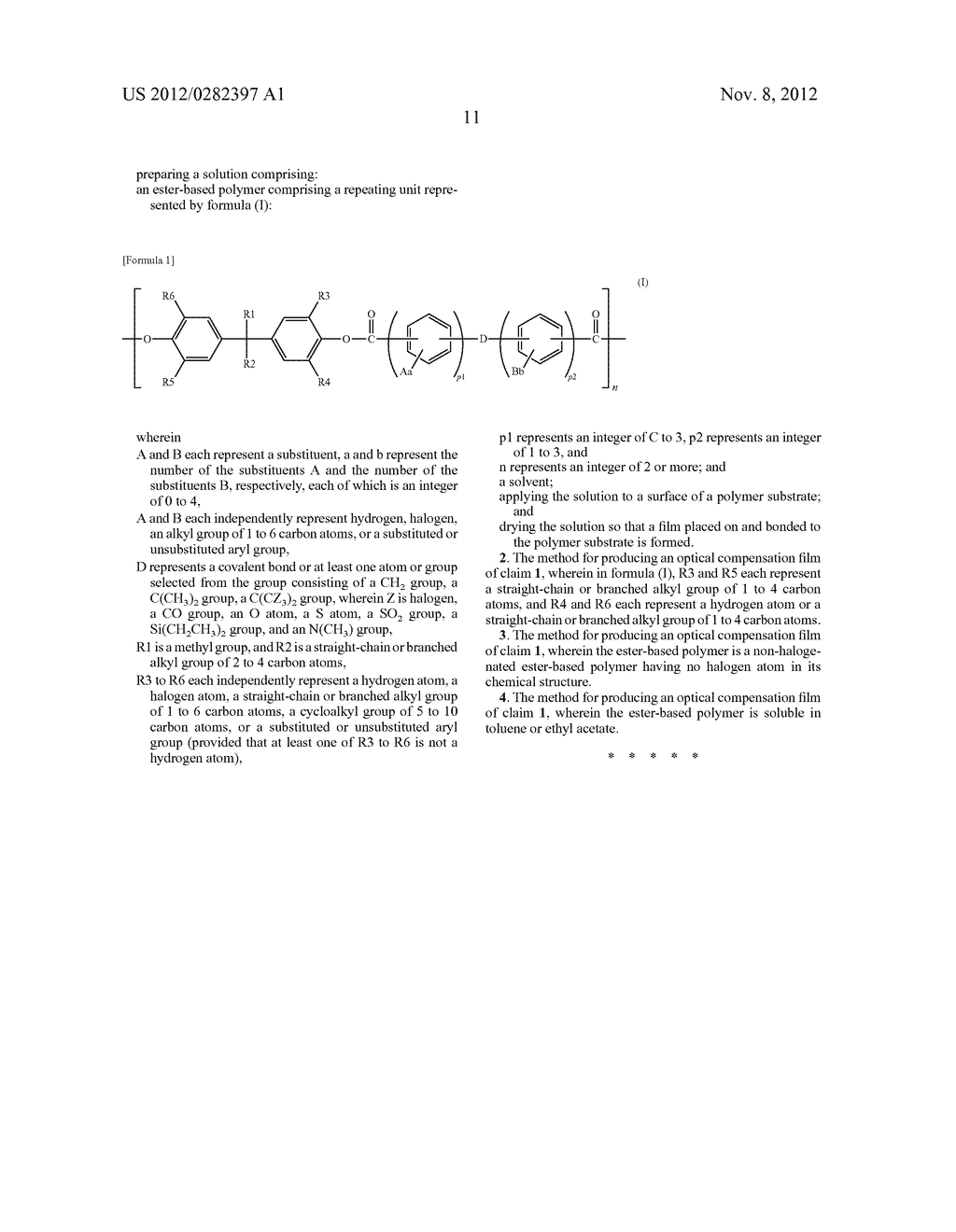 OPTICAL FILM AND METHOD FOR PRODUCTION THEREOF - diagram, schematic, and image 13