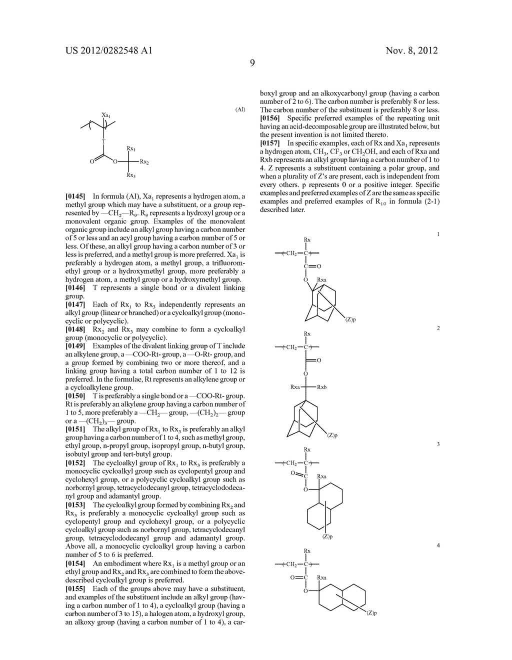 PATTERN FORMING METHOD, ACTINIC RAY-SENSITIVE OR RADIATION-SENSITIVE RESIN     COMPOSITION AND RESIST FILM - diagram, schematic, and image 10