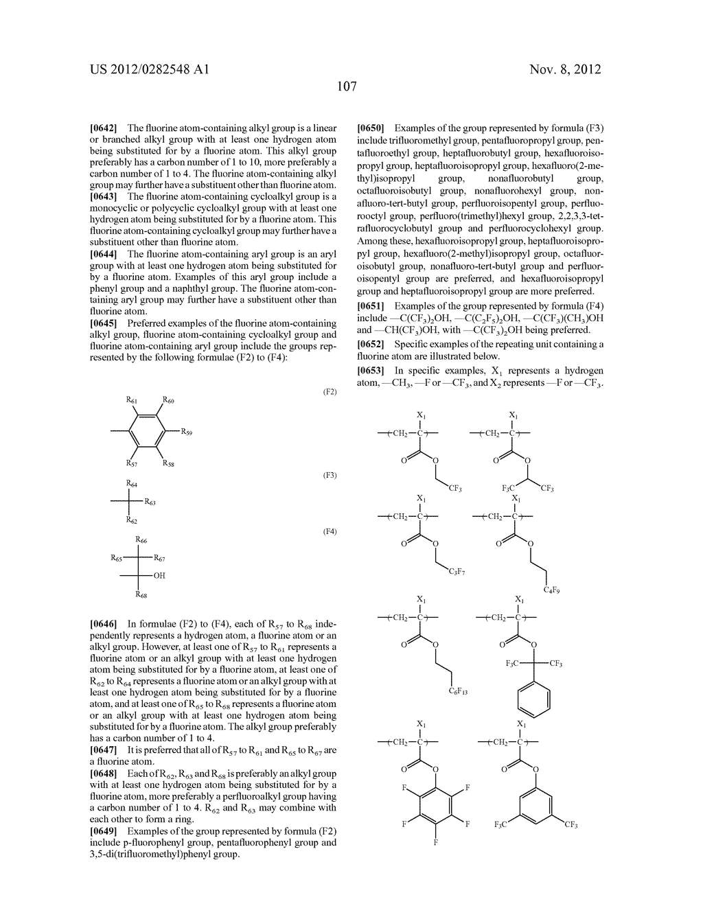 PATTERN FORMING METHOD, ACTINIC RAY-SENSITIVE OR RADIATION-SENSITIVE RESIN     COMPOSITION AND RESIST FILM - diagram, schematic, and image 108