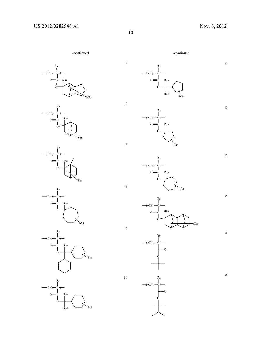 PATTERN FORMING METHOD, ACTINIC RAY-SENSITIVE OR RADIATION-SENSITIVE RESIN     COMPOSITION AND RESIST FILM - diagram, schematic, and image 11