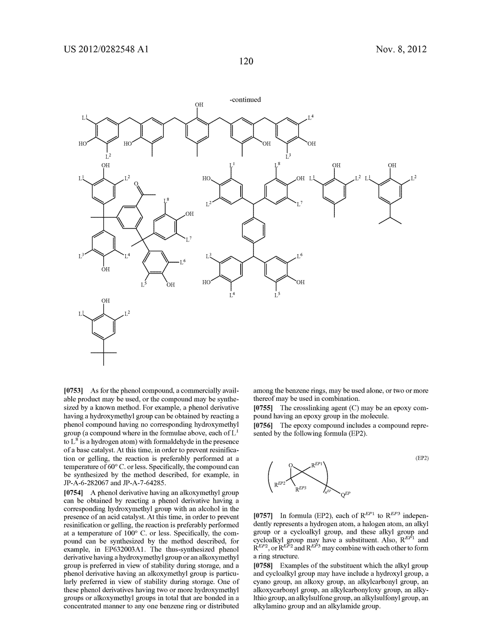PATTERN FORMING METHOD, ACTINIC RAY-SENSITIVE OR RADIATION-SENSITIVE RESIN     COMPOSITION AND RESIST FILM - diagram, schematic, and image 121