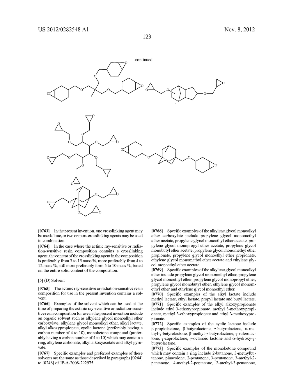 PATTERN FORMING METHOD, ACTINIC RAY-SENSITIVE OR RADIATION-SENSITIVE RESIN     COMPOSITION AND RESIST FILM - diagram, schematic, and image 124