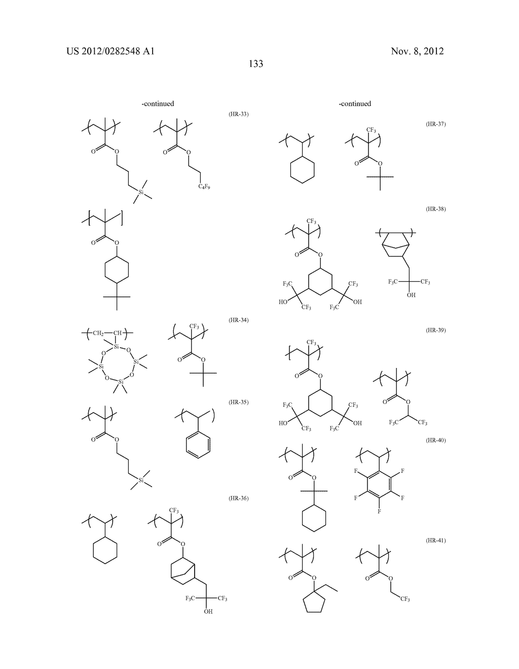 PATTERN FORMING METHOD, ACTINIC RAY-SENSITIVE OR RADIATION-SENSITIVE RESIN     COMPOSITION AND RESIST FILM - diagram, schematic, and image 134
