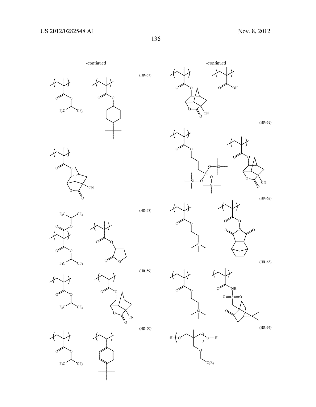 PATTERN FORMING METHOD, ACTINIC RAY-SENSITIVE OR RADIATION-SENSITIVE RESIN     COMPOSITION AND RESIST FILM - diagram, schematic, and image 137