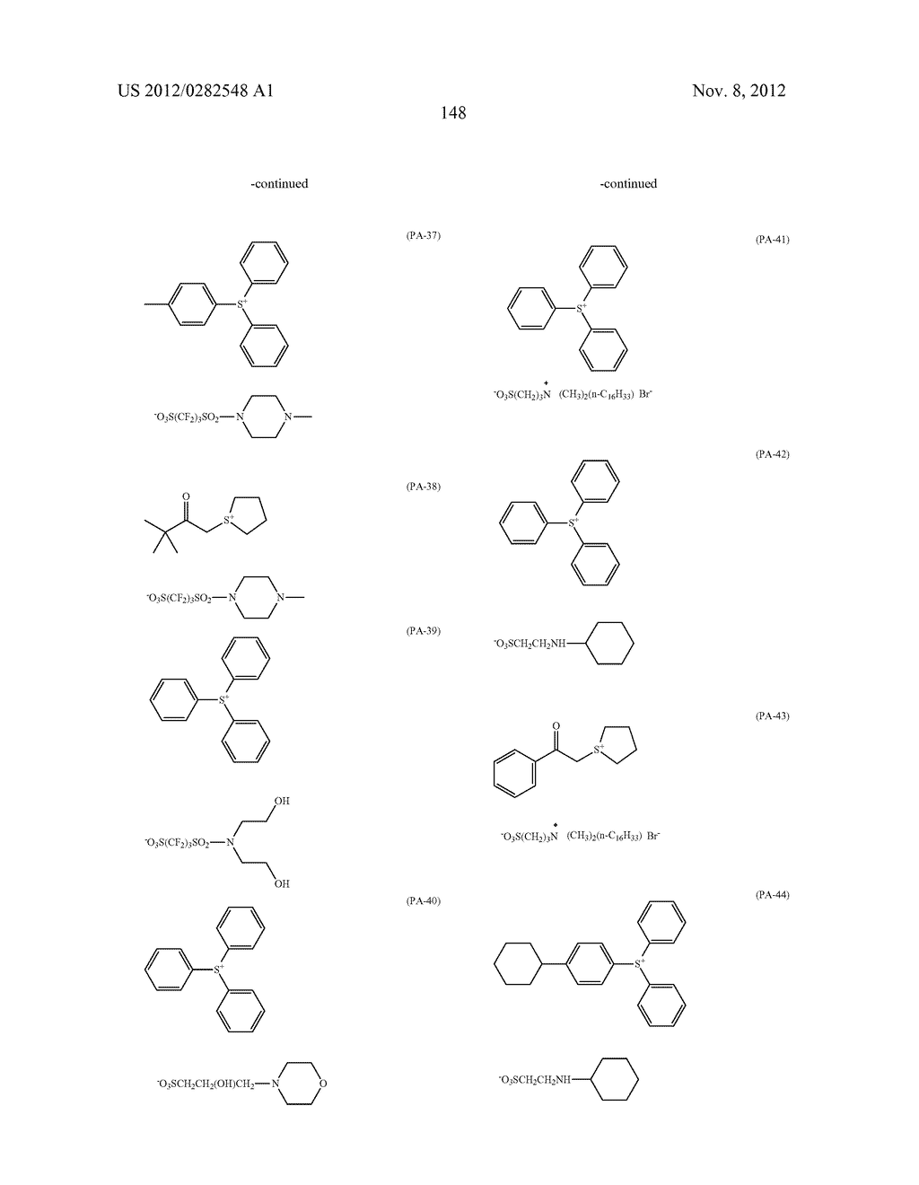 PATTERN FORMING METHOD, ACTINIC RAY-SENSITIVE OR RADIATION-SENSITIVE RESIN     COMPOSITION AND RESIST FILM - diagram, schematic, and image 149