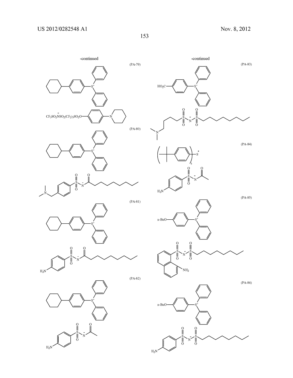 PATTERN FORMING METHOD, ACTINIC RAY-SENSITIVE OR RADIATION-SENSITIVE RESIN     COMPOSITION AND RESIST FILM - diagram, schematic, and image 154