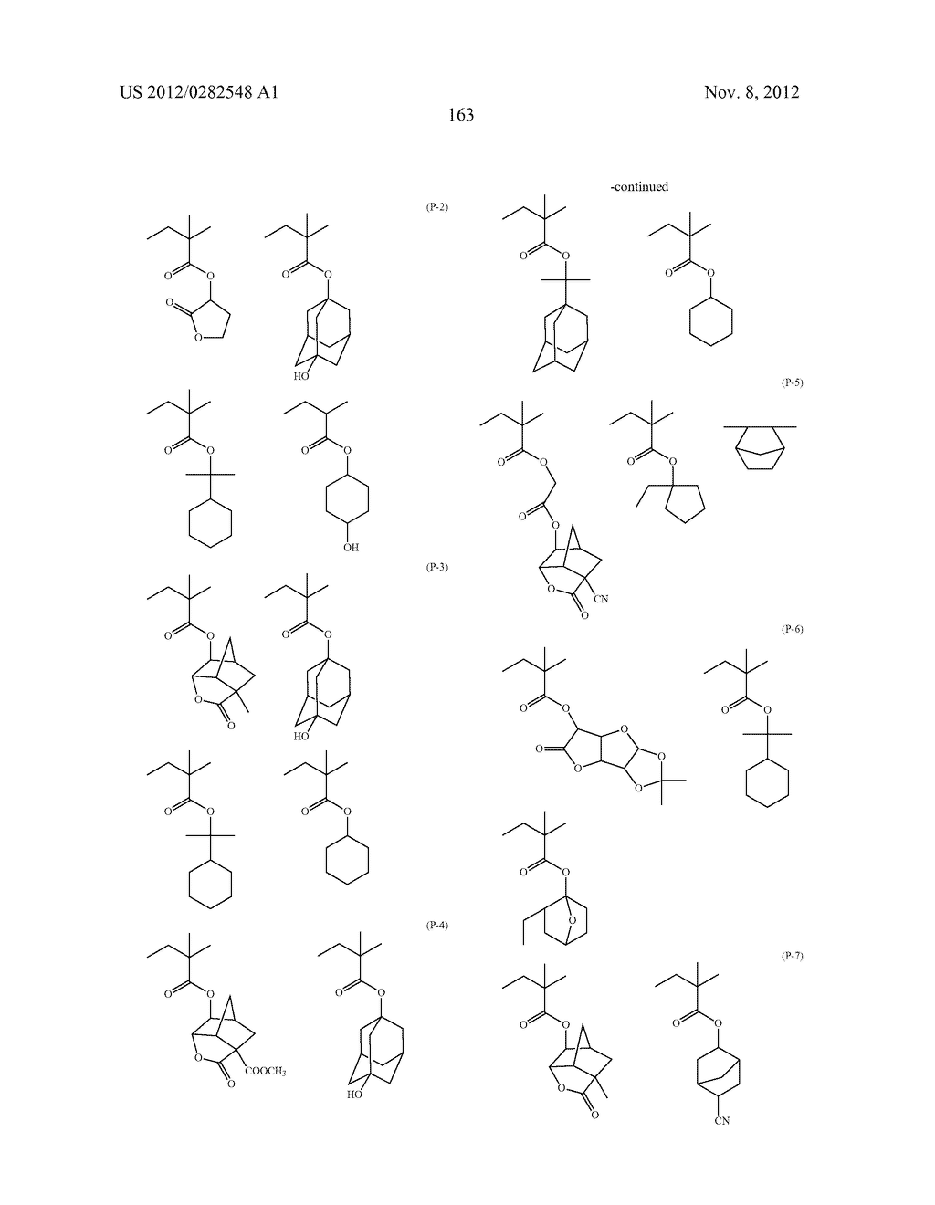 PATTERN FORMING METHOD, ACTINIC RAY-SENSITIVE OR RADIATION-SENSITIVE RESIN     COMPOSITION AND RESIST FILM - diagram, schematic, and image 164