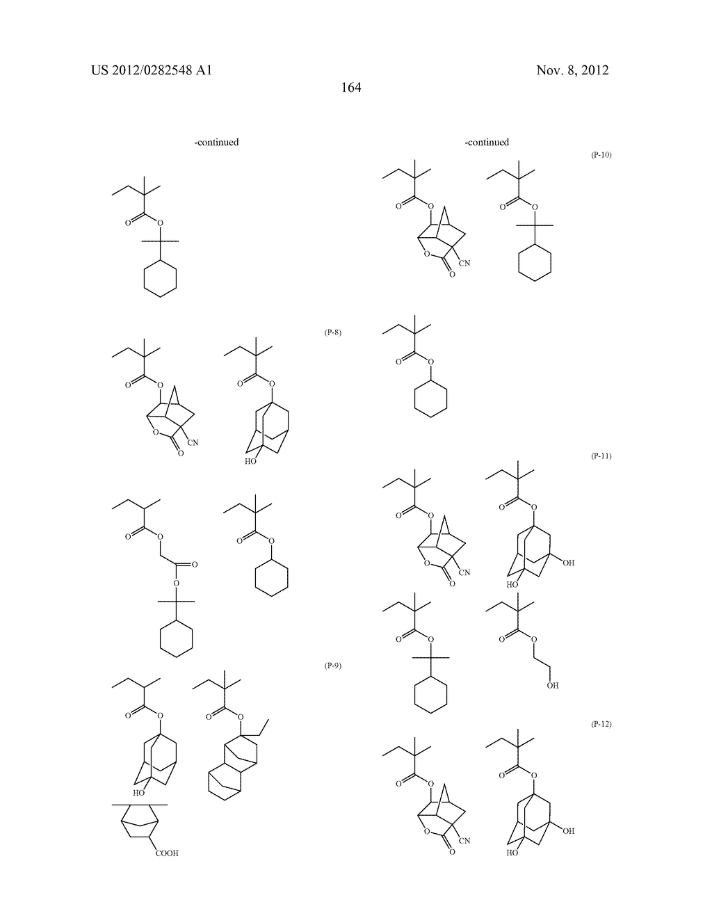 PATTERN FORMING METHOD, ACTINIC RAY-SENSITIVE OR RADIATION-SENSITIVE RESIN     COMPOSITION AND RESIST FILM - diagram, schematic, and image 165