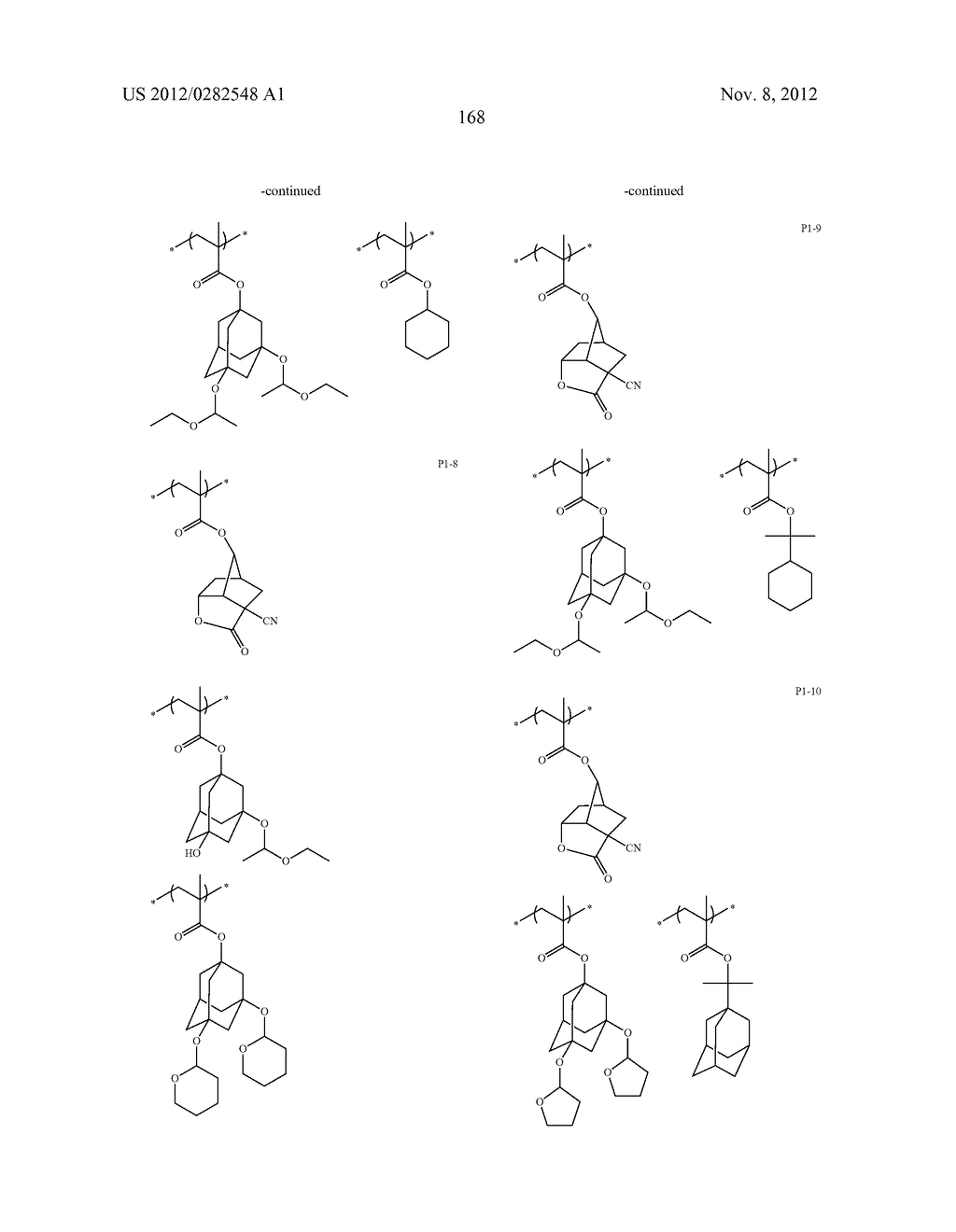 PATTERN FORMING METHOD, ACTINIC RAY-SENSITIVE OR RADIATION-SENSITIVE RESIN     COMPOSITION AND RESIST FILM - diagram, schematic, and image 169