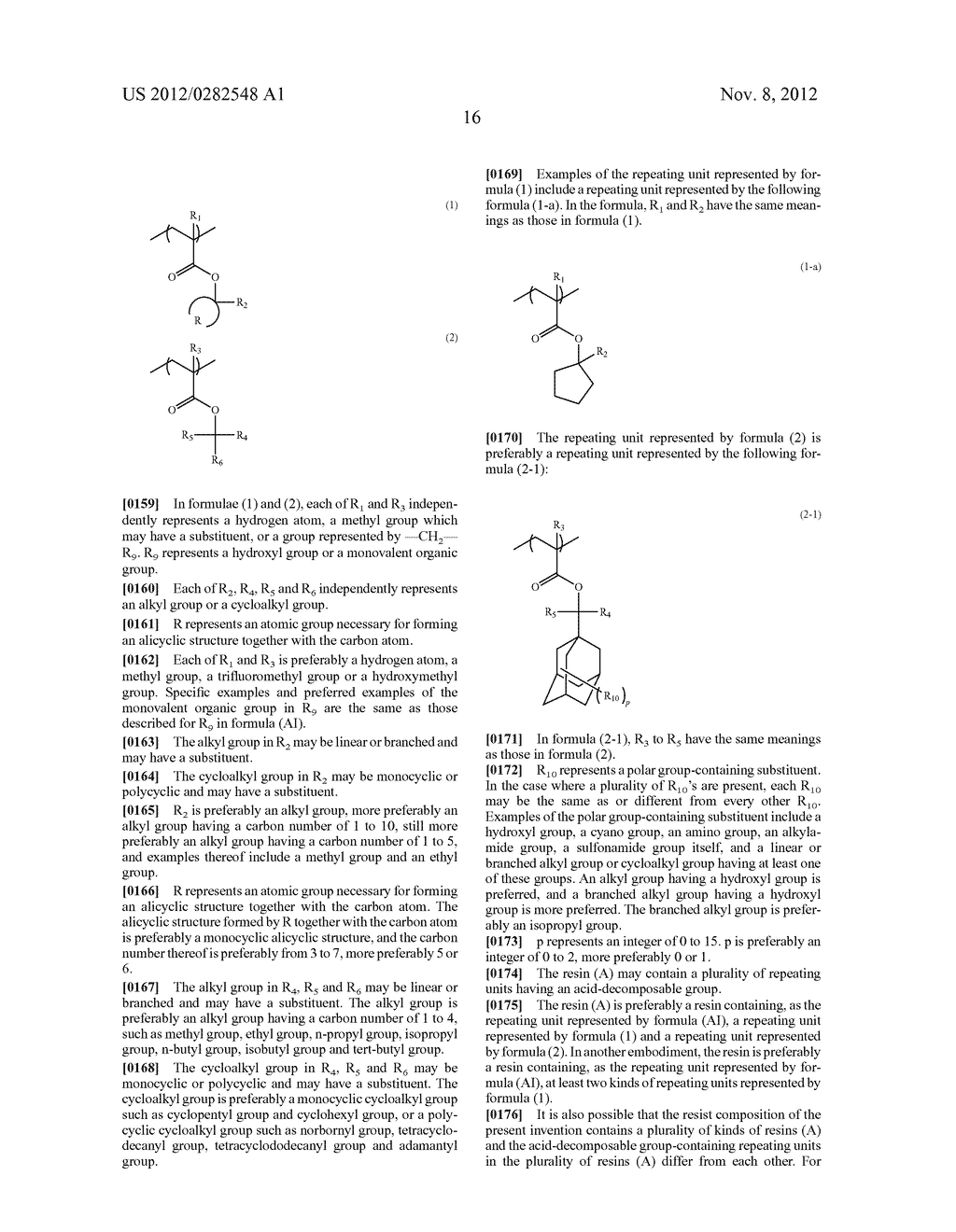 PATTERN FORMING METHOD, ACTINIC RAY-SENSITIVE OR RADIATION-SENSITIVE RESIN     COMPOSITION AND RESIST FILM - diagram, schematic, and image 17