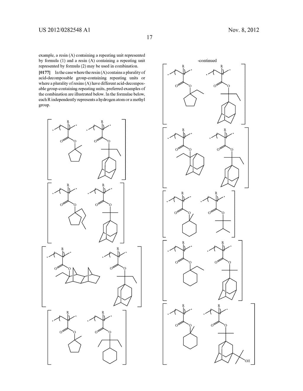 PATTERN FORMING METHOD, ACTINIC RAY-SENSITIVE OR RADIATION-SENSITIVE RESIN     COMPOSITION AND RESIST FILM - diagram, schematic, and image 18