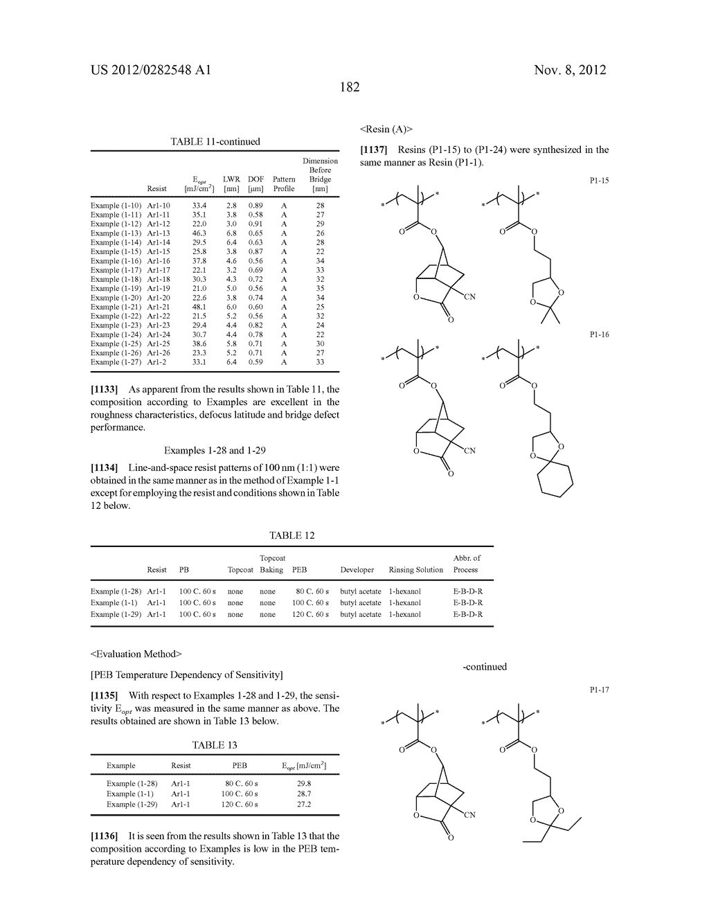 PATTERN FORMING METHOD, ACTINIC RAY-SENSITIVE OR RADIATION-SENSITIVE RESIN     COMPOSITION AND RESIST FILM - diagram, schematic, and image 183
