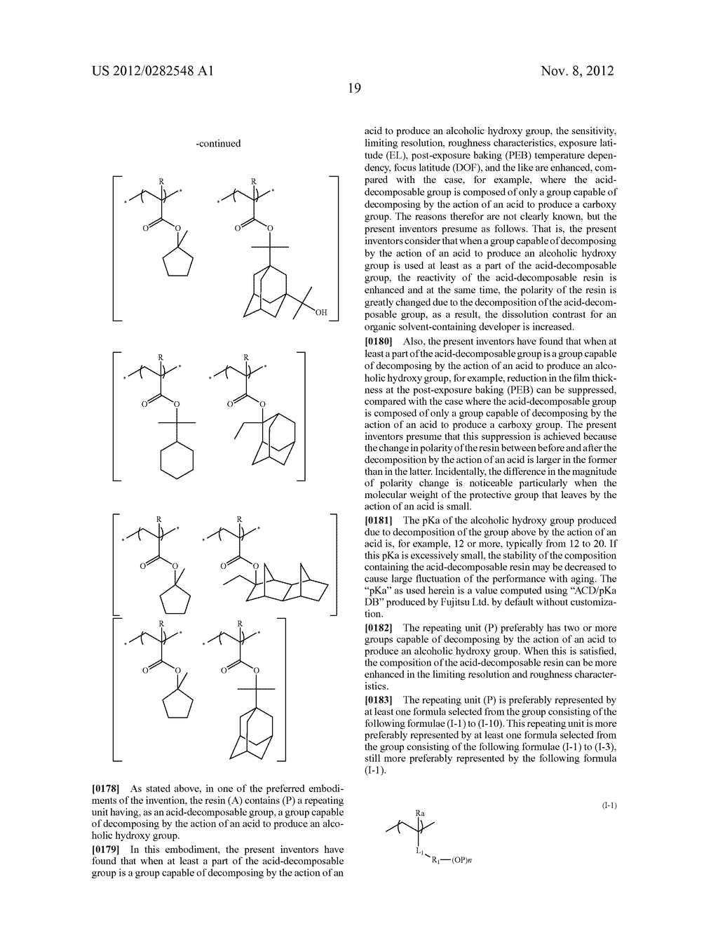 PATTERN FORMING METHOD, ACTINIC RAY-SENSITIVE OR RADIATION-SENSITIVE RESIN     COMPOSITION AND RESIST FILM - diagram, schematic, and image 20
