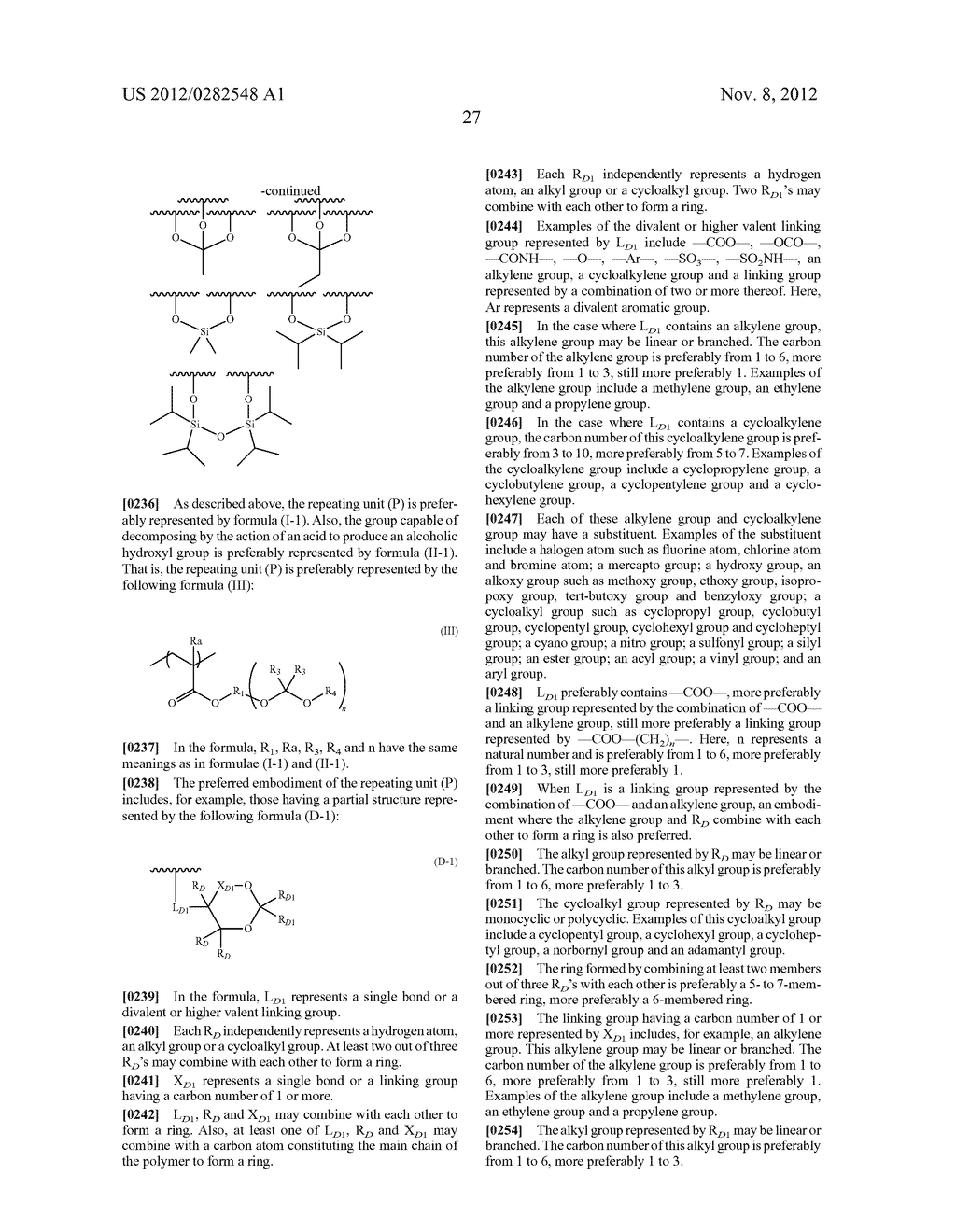 PATTERN FORMING METHOD, ACTINIC RAY-SENSITIVE OR RADIATION-SENSITIVE RESIN     COMPOSITION AND RESIST FILM - diagram, schematic, and image 28