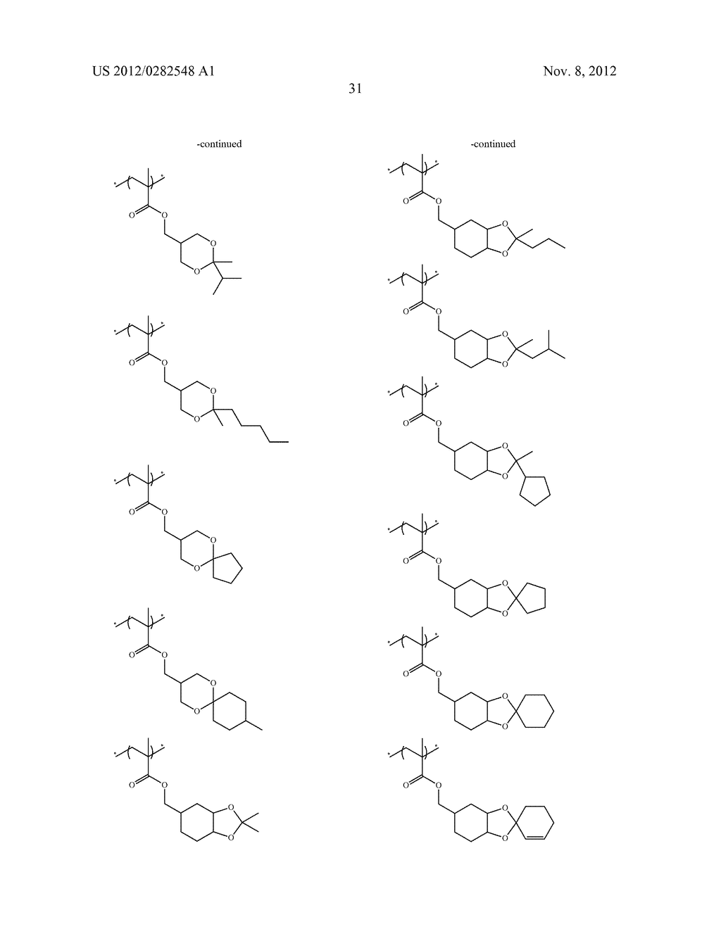 PATTERN FORMING METHOD, ACTINIC RAY-SENSITIVE OR RADIATION-SENSITIVE RESIN     COMPOSITION AND RESIST FILM - diagram, schematic, and image 32
