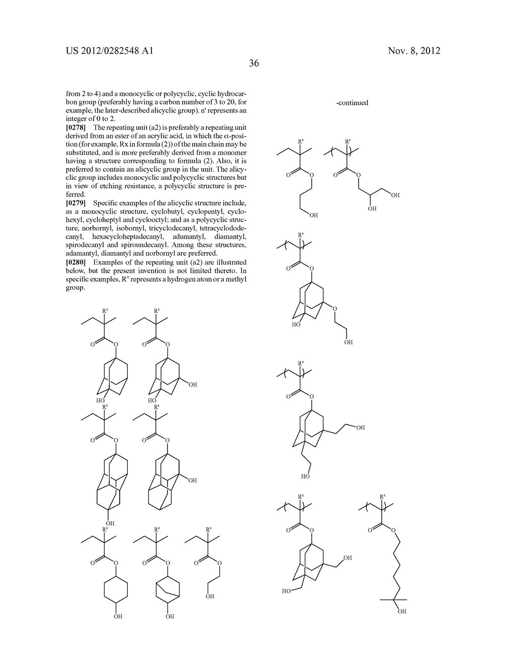 PATTERN FORMING METHOD, ACTINIC RAY-SENSITIVE OR RADIATION-SENSITIVE RESIN     COMPOSITION AND RESIST FILM - diagram, schematic, and image 37