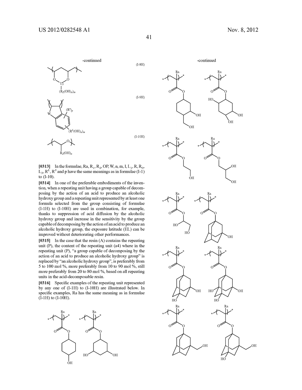 PATTERN FORMING METHOD, ACTINIC RAY-SENSITIVE OR RADIATION-SENSITIVE RESIN     COMPOSITION AND RESIST FILM - diagram, schematic, and image 42