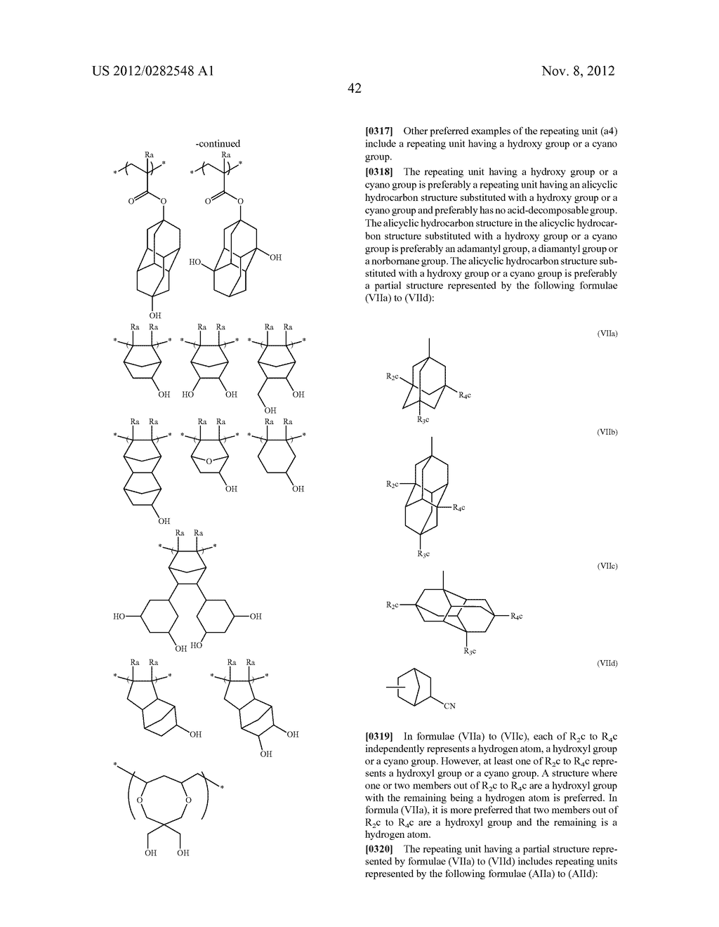 PATTERN FORMING METHOD, ACTINIC RAY-SENSITIVE OR RADIATION-SENSITIVE RESIN     COMPOSITION AND RESIST FILM - diagram, schematic, and image 43