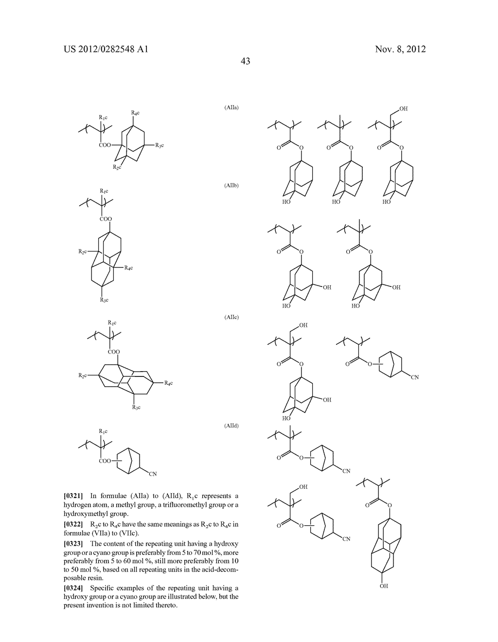 PATTERN FORMING METHOD, ACTINIC RAY-SENSITIVE OR RADIATION-SENSITIVE RESIN     COMPOSITION AND RESIST FILM - diagram, schematic, and image 44