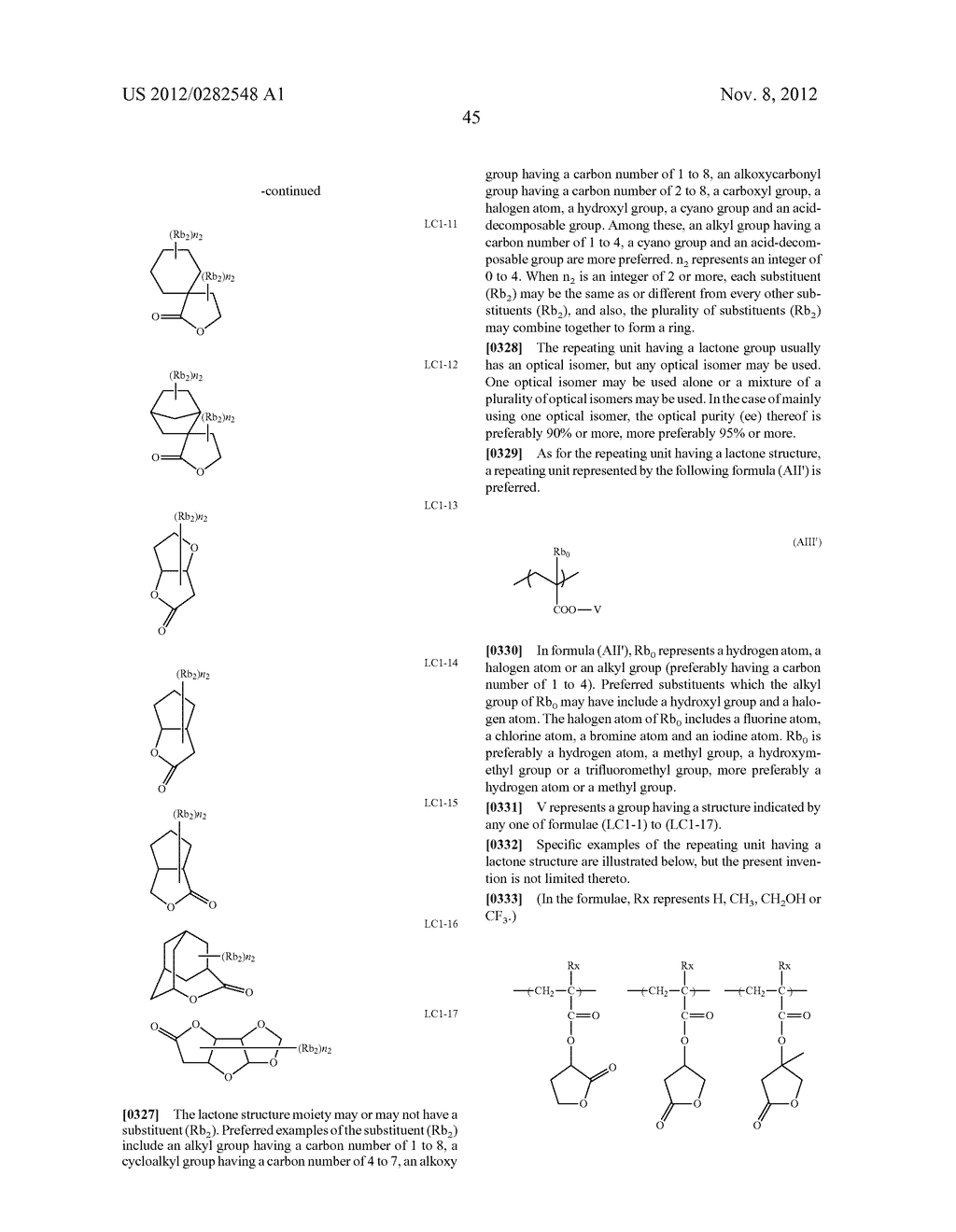 PATTERN FORMING METHOD, ACTINIC RAY-SENSITIVE OR RADIATION-SENSITIVE RESIN     COMPOSITION AND RESIST FILM - diagram, schematic, and image 46