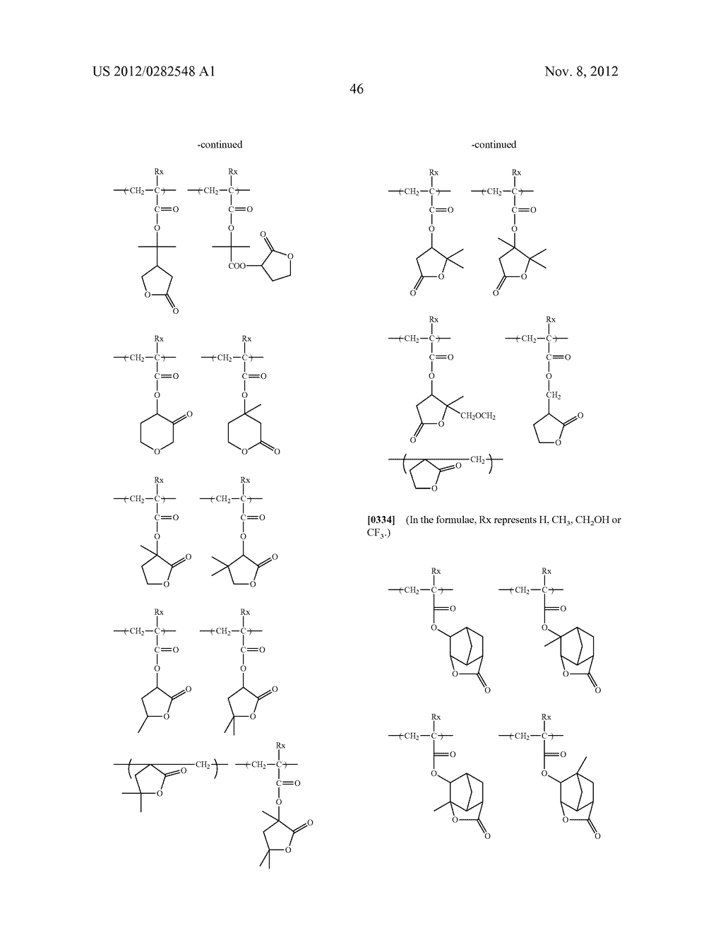 PATTERN FORMING METHOD, ACTINIC RAY-SENSITIVE OR RADIATION-SENSITIVE RESIN     COMPOSITION AND RESIST FILM - diagram, schematic, and image 47