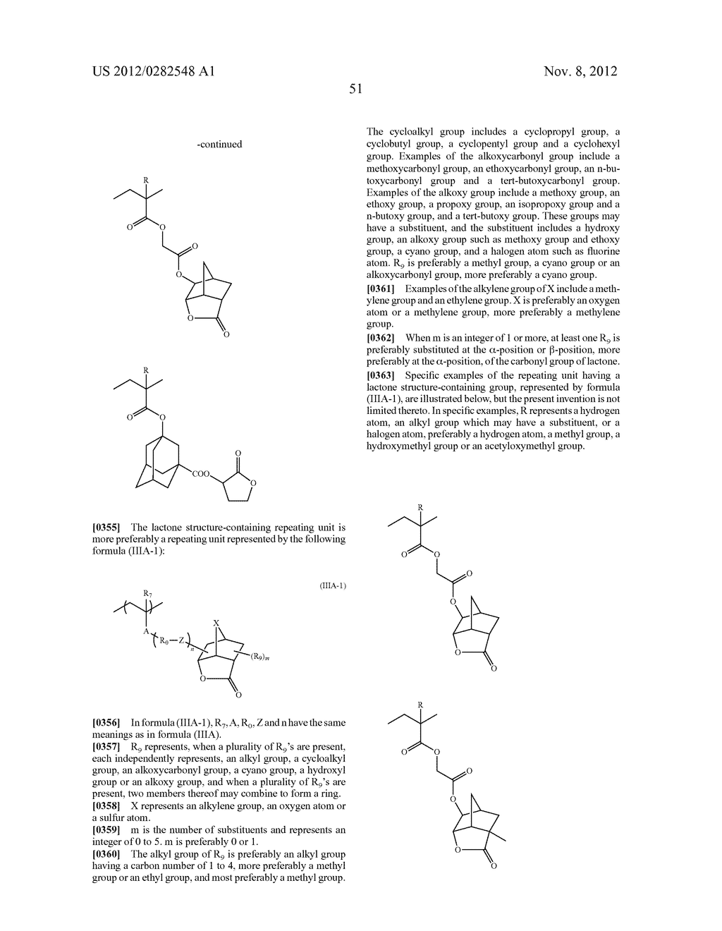 PATTERN FORMING METHOD, ACTINIC RAY-SENSITIVE OR RADIATION-SENSITIVE RESIN     COMPOSITION AND RESIST FILM - diagram, schematic, and image 52