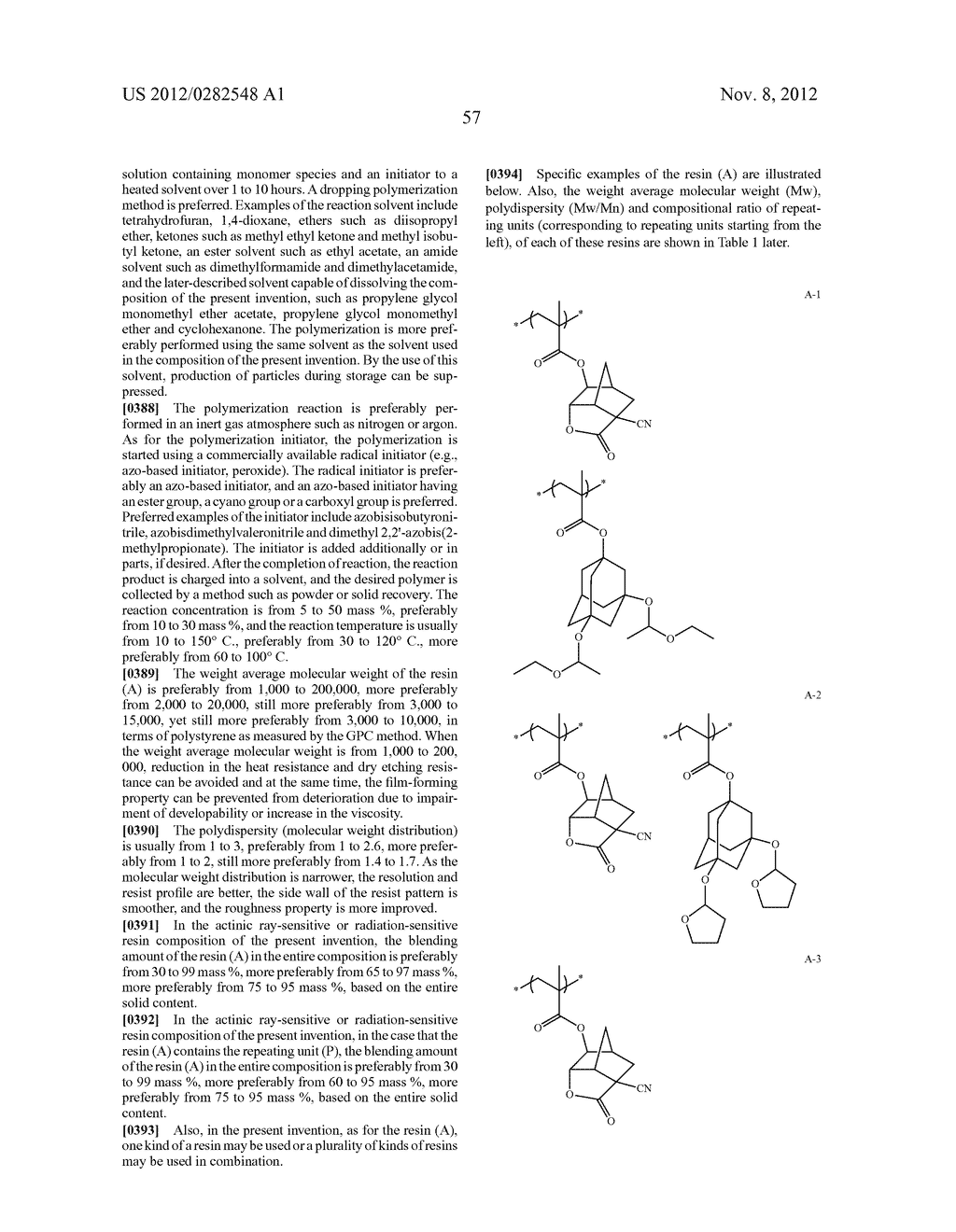 PATTERN FORMING METHOD, ACTINIC RAY-SENSITIVE OR RADIATION-SENSITIVE RESIN     COMPOSITION AND RESIST FILM - diagram, schematic, and image 58