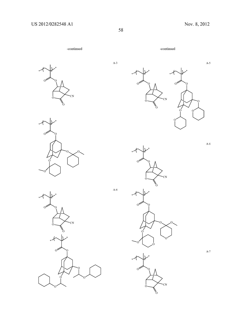PATTERN FORMING METHOD, ACTINIC RAY-SENSITIVE OR RADIATION-SENSITIVE RESIN     COMPOSITION AND RESIST FILM - diagram, schematic, and image 59