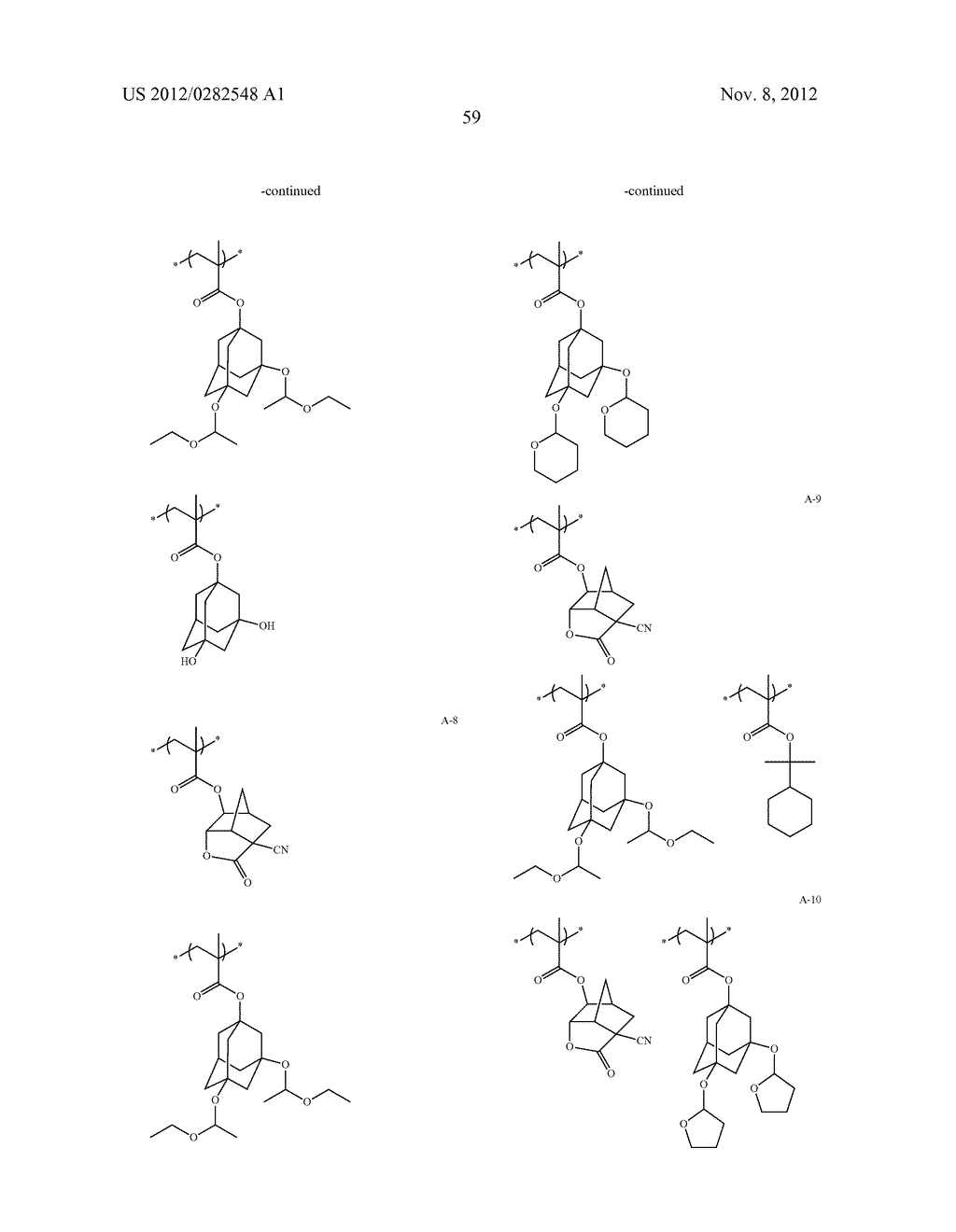 PATTERN FORMING METHOD, ACTINIC RAY-SENSITIVE OR RADIATION-SENSITIVE RESIN     COMPOSITION AND RESIST FILM - diagram, schematic, and image 60